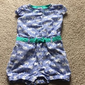 Cute elephant romper
